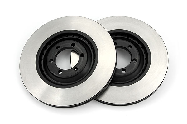 Vented V6 Rear Rotors